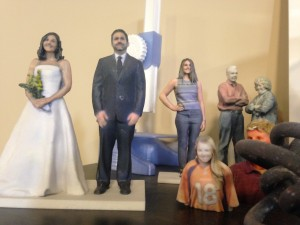 """""""Inaction Figures"""" made by The 3D Printing Store."""