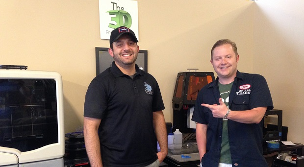Justin Finesilver, co-owner of The 3D Printing Store, is the guest on Ep. 70 of the Jon of All Trades Podcast, premiering August 26, 2015.