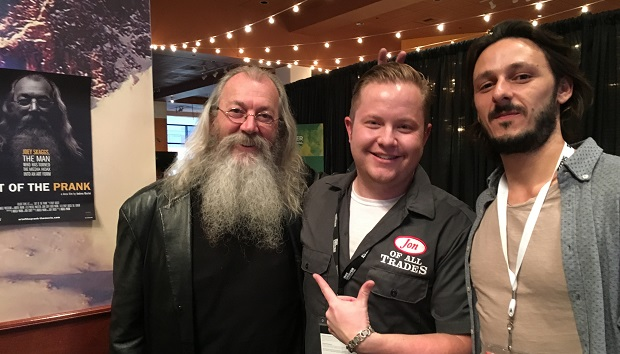 Joey Skaggs and Andrea Marini, subject and director of The Art of the Prank, are the guests on Ep. 81 of the Jon of All Trades Podcast, part of our coverage from the Denver Film Festival.
