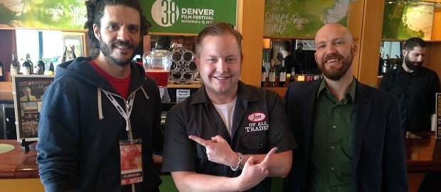 Ian Cooke (left) and Ian O'Dougherty are the guests on Ep. 79 of the Jon of All Trades Podcast, part of our week-long coverage of the Denver Film Festival.