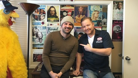 Kayan Khalatbari, founder of Sexpot Comedy, Sexy Pizza, Denver Relief and Birdy Magazine, is the guest on Ep. 91 of the Jon of All Trades Podcast, airing April 13, 2016.