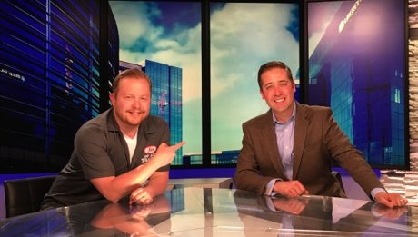 Kyle Clark, 9News anchor and craft beer enthusiast, is the guest on Ep. 95 of the Jon of All Trades Podcast, airing May 25, 2016.