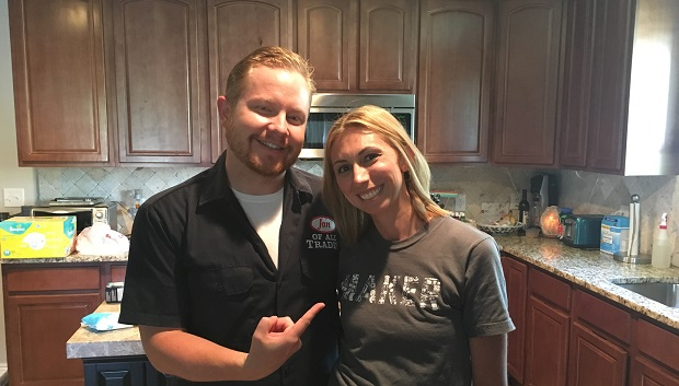 Michelle Gutschick is the creator of Shelly Homemaker, and she's an entrepreneur and a DIY and craft guru. She's the guest on Ep. 105 of the Jon of All Trades Podcast, debuting August 17, 2016.