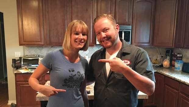 DJ Erin Stereo, a DJ, turntablist, and former 911 dispatcher, is the guest on Ep 108 of the Jon of All Trades Podcast, debuting September 28, 2016.