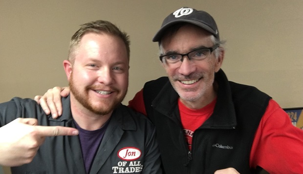 Patrick Sheridan is the Executive Director of the Emerging Filmmakers Project, and is currently battling pancreatic cancer. He is the guest on Ep. 119 of the Jon of All Trades Podcast, debuting January 4, 2016. This is a re-post of his episode in tribute to Patrick who passed away February 1, 2018.