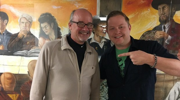 Rusty Butler is the Reverend at Arvada United Methodist Church and he's the guest on Ep. 132 of the Jon of All Trades Podcast, debuting April 19, 2017.
