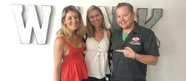 Ginna Santy (left) and Melanie Ulle are the co-founders of Women In Kind, a co-working space designed with women in mind in Denver, and they're the guests on Ep. 148 of the Jon of All Trades Podcast, debuting September 27, 2017.