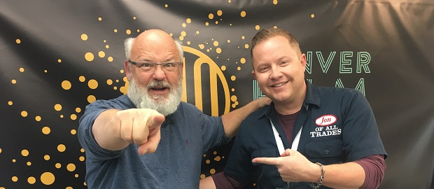 Kyle Gass from Tenacious D is the guest on Ep. 154 of the Jon of All Trades Podcast, debuting November 10, 2017.