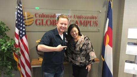 Dr. Becky Takeda-Tinker is the President of CSU Global, and she's the guest on Ep. 172 of the Jon of All Trades Podcast, debuting April 18, 2018.