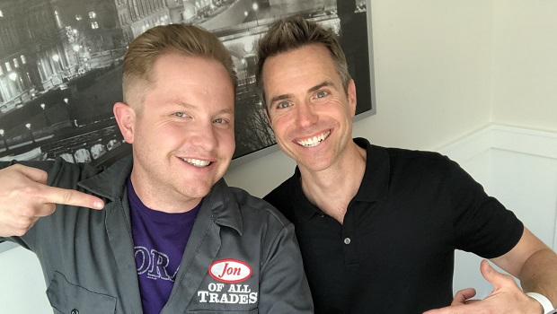 Jay Mays is a former comic, an entrepreneur and the founder of Pitch Lab. And he's the guest on Ep. 186 of the Jon of All Trades Podcast, debuting August 22, 2018.