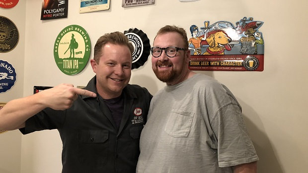 Justin Thomson, former drag queen, weight loss surgery haver and currently in the food industry, is the guest on Ep. 189 of the Jon of All Trades Podcast debuting September 19, 2018.