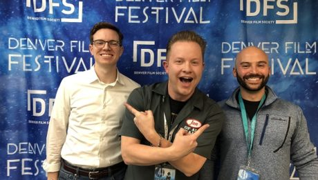 Chris Weller (left) and Sam Rega are the Producer and Director, respectively, Breaking the Bee, a documentary about Indian-American dominance at the Scripps National Spelling Bee, join the Jon of All Trades Podcast Ep. 198 at the Denver Film Festival, debuting November 13, 2018.