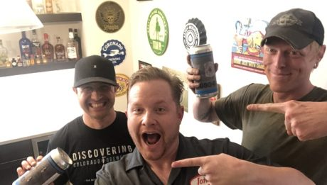 Brett Zahrte (left) and Jason Bailey are two of the founders of Old 121 Brewhouse. They're the guests on Ep. 214 of the Jon of All Trades Podcast debuting June 5, 2019.