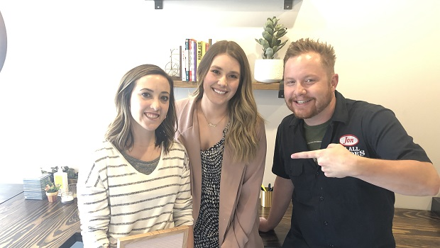 Amanda McLernon (left) and Emily Klipp are the CEO and COO of McLernon & Co and they're the guests on Ep. 219 of the Jon of All Trades Podcast debuting July 17, 2019.