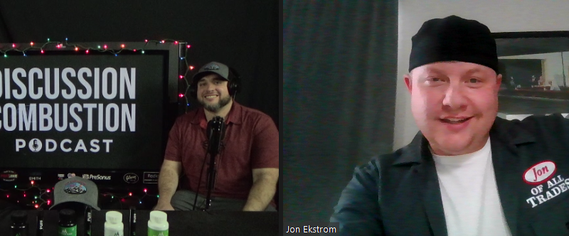Kevin Batstone and Arthur Rawe host Discussion Combustion Podcast, recently nominated for three Hoppy Awards. They're the guests on Ep. 275 of the Jon of All Trades Podcast, debuting December 23, 2020.