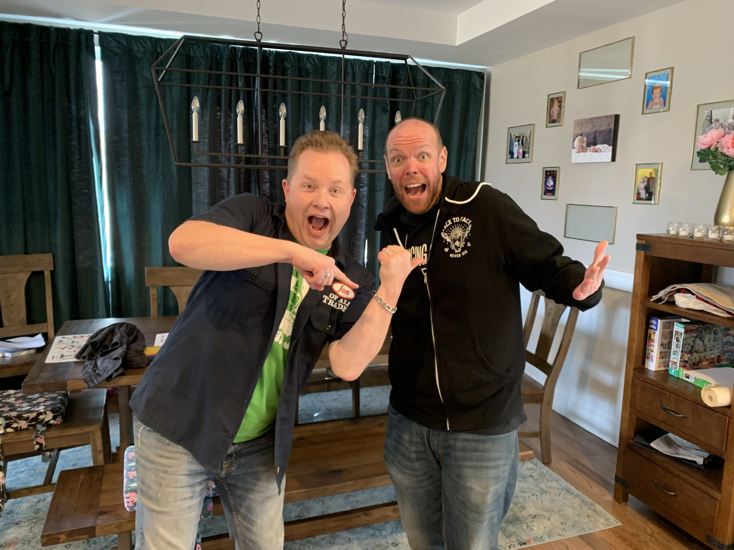 Jason Taylor is my best friend, writing partner, and creative muse. He's the guest on the 7-year anniversary, Ep. 285, of the Jon of All Trades Podcast debuting on March 24, 2021.
