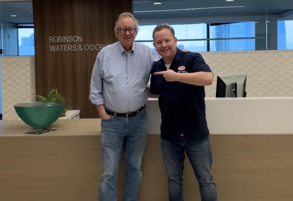 Peter Moore is Chairman of the Business Law Department of Robinson Waters & O'Dorisio and he's the guest on Ep. 301 of the Jon of All Trades Podcast debuting August 18, 2021.